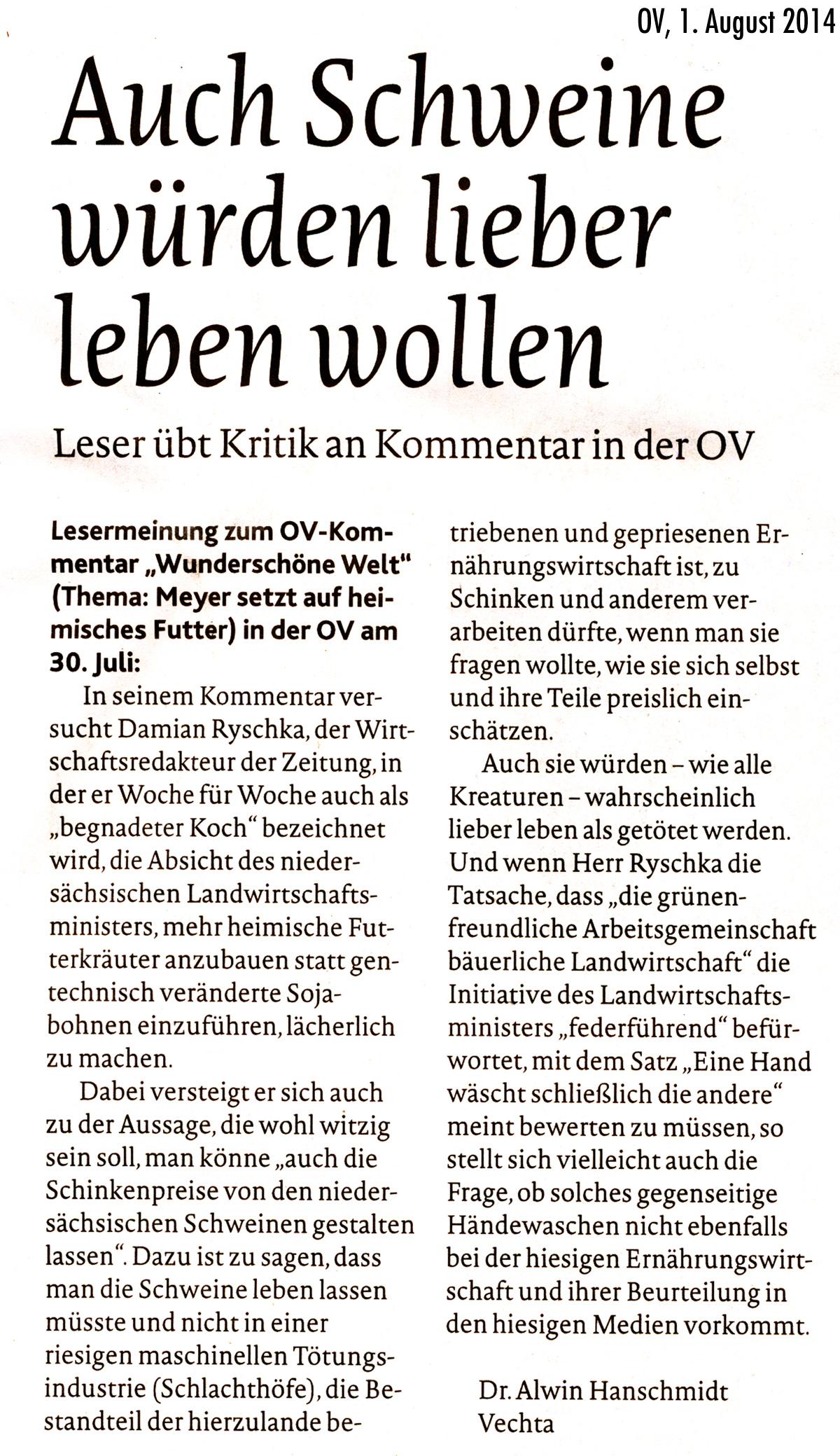 Liebesbrief - Narrenfreiheit des Tages 21.11.2014 | Funcloud